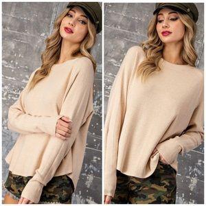 Last1️⃣Boston Luxury Ribbed Classy Sweater Top